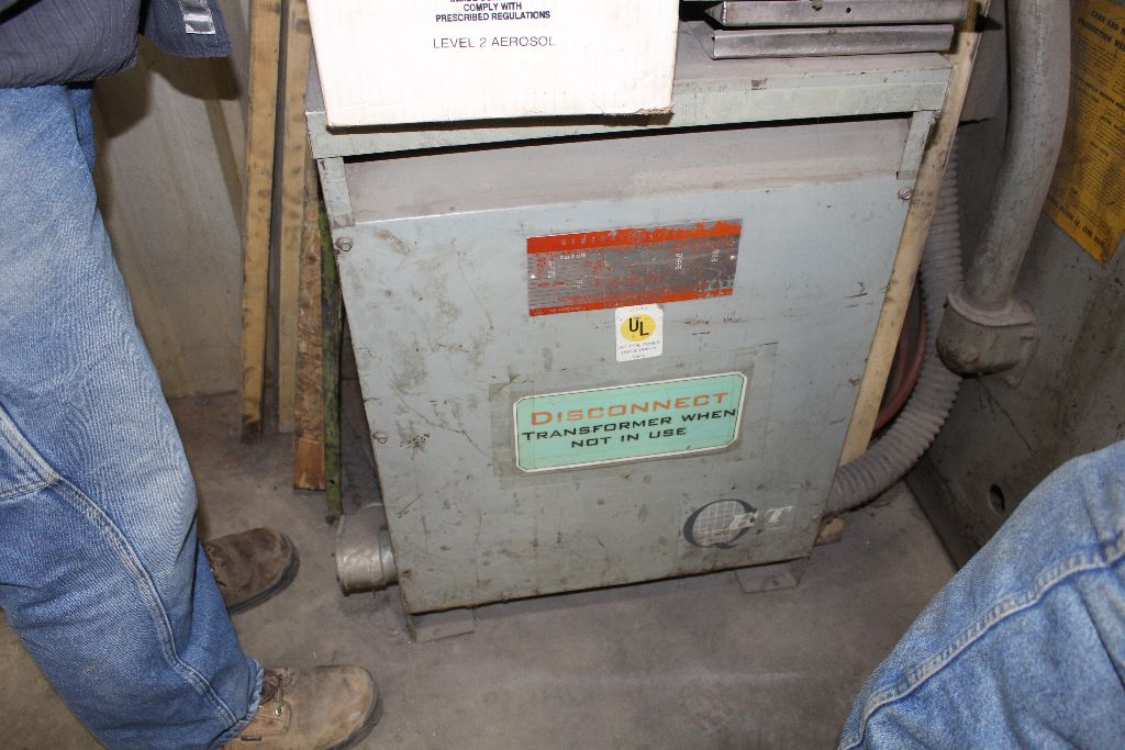 Thomson spot welder, model G-12, sn 15516, water cooled, updated controls. - Image 8 of 8