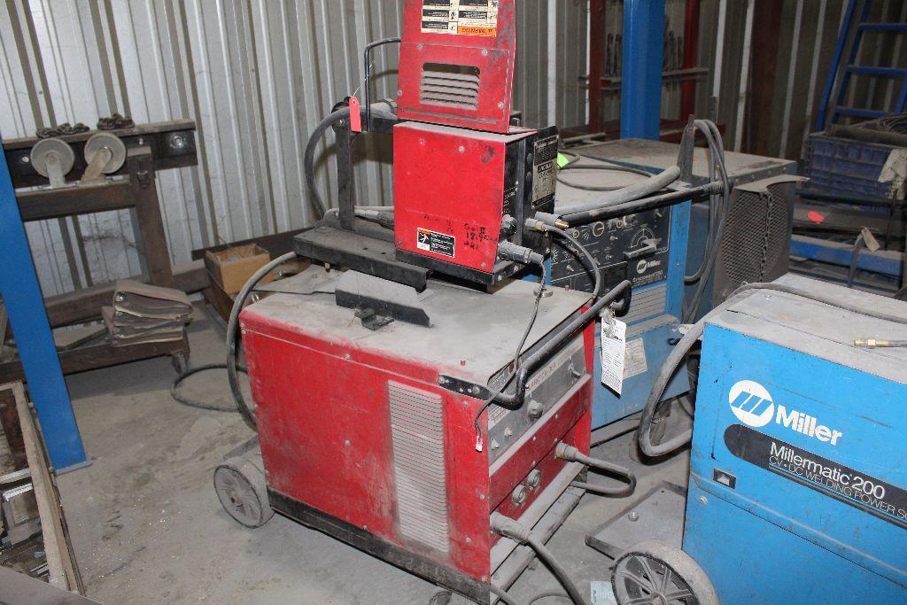 Lincoln welder, Ideal ARC-CV300, sn 1940324958. - Image 3 of 4
