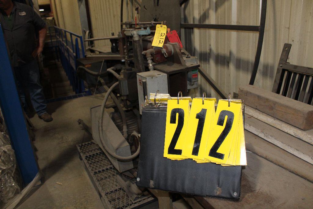 Bender shopmade, 7.5 hp, hydraulic. - Image 2 of 4