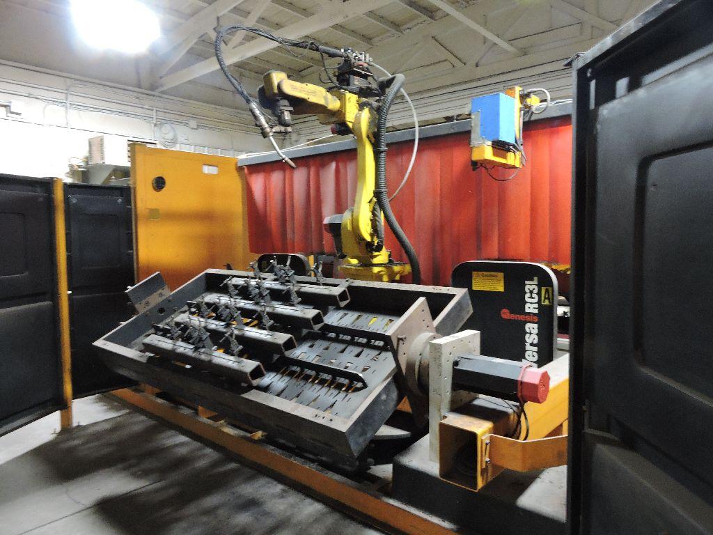 Wire welding Robot Genesis Versa RC3L, sn U1951012056, Fanuc Arc mate 100, Fanuc Sustem R-J2 - Image 23 of 32