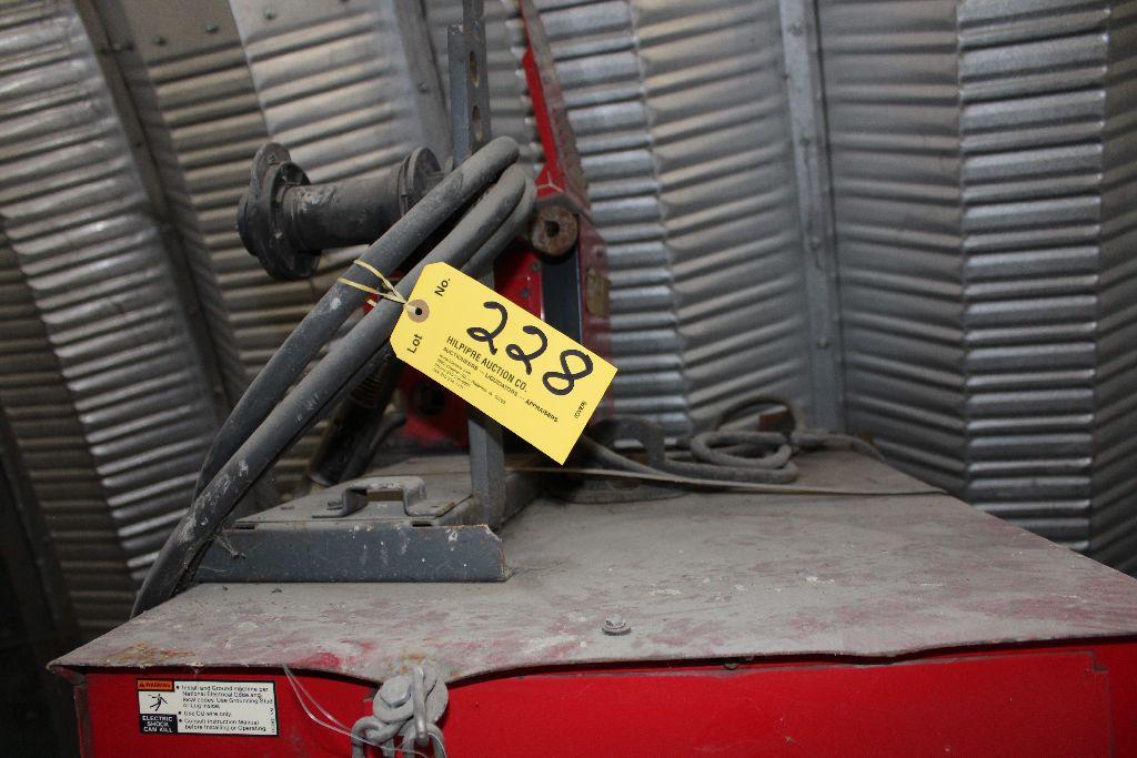 Lincoln welder model CV-400, sn 857378. - Image 2 of 2