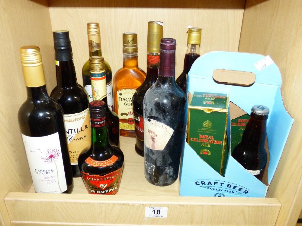 Lot 18 - QUANTITY OF ALCOHOL
