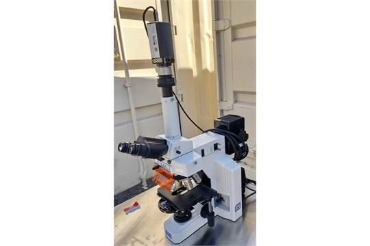 nikon eclipse e600 microscope all equipment is sold as is. Black Bedroom Furniture Sets. Home Design Ideas