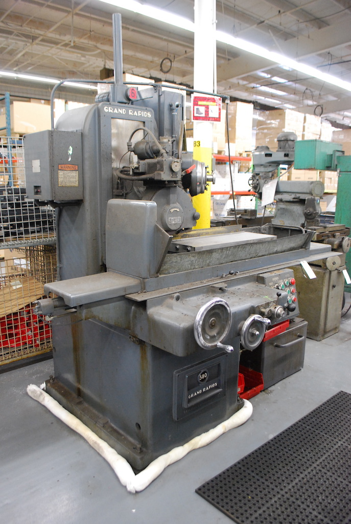 "Lot 5 - GALLMEYER & LIVINGSTON GRAND RAPIDS 10"" X 30"" MODEL NO. 380 HYDRAULIC SURFACE GRINDER: S/N 380196 ("