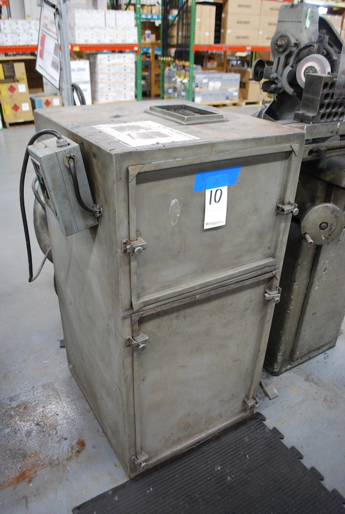 Lot 10 - CABINET TYPE DUST COLLECTOR