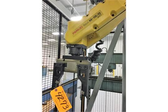 M-16IB/20T FANUC CNC ROBOTIC PARTS LOADER S/N TP00471 WITH