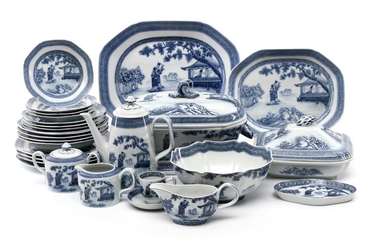 Lot 1020 - DINNER SET in Portuguese Vista Alegre porcelain marked nr. 36 (  sc 1 st  The Saleroom & DINNER SET in Portuguese Vista Alegre porcelain marked nr. 36 (1980 ...