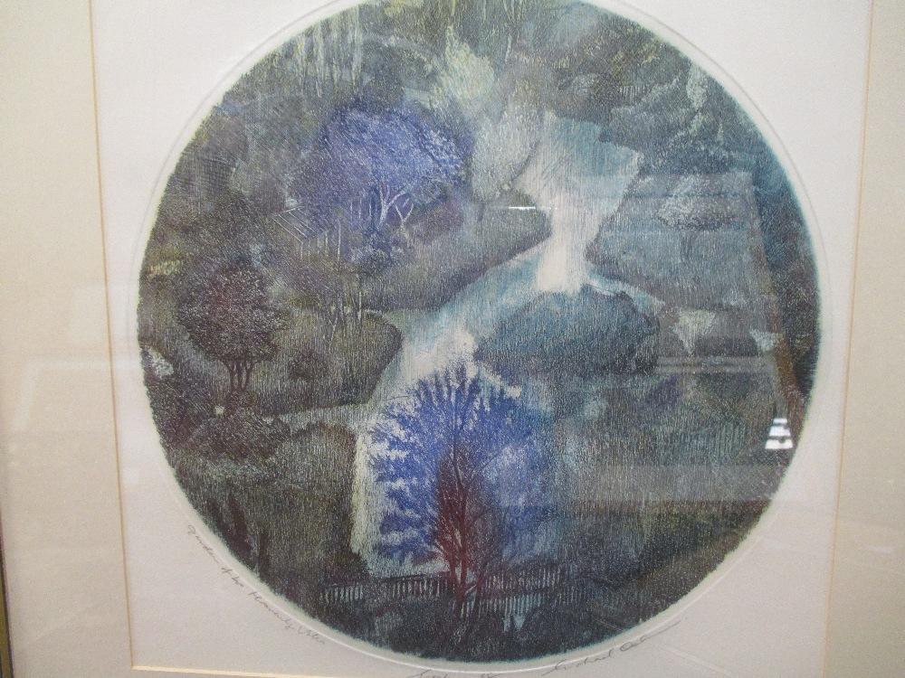 Lot 27 - Hilda Bernstein (British, 1915-2006) 'In the Home', etching, 56 x 36cm; Michael Oelman (British, b.