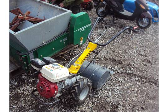 GARDEN MASTER petrol rotavator