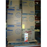 LOT OF CONSISTING OF WYPALL & KLEENEX PAPER TOWELS  &  CHARMIN TOILET PAPER (approx. 10 boxes -