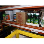 LOT OF CLEANING SUPPLIES: Simple Green, Pine-Sol, Mean Green industrial cleaner  LOCATED IN HOUSTON,