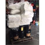 LOT OF KOPR-KOTE PIPE DOPE & ABSORBENT PADS  LOCATED IN HOUSTON, TX