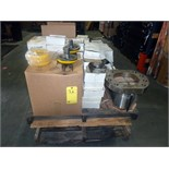 LOT OF PISTONS, VALVES, SEATS & assorted PZ-11F.D1600F1000 MUD PUMP ACCESSORIES  LOCATED IN HOUSTON,