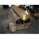 LOT OF BLACK POLY SHEETING, 40' x 100', 6 mm, (approx. 5 rolls)  LOCATED IN HOUSTON, TX