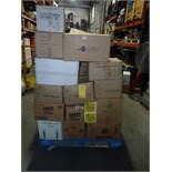 LOT OF CLEANING SUPPLIES: Tyvek suits, trash bags, Lysol, GoJo, bleach, Sud-Ur-Duds  LOCATED IN