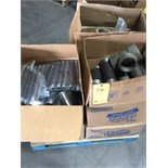 LOT OF PIPE FITTINGS, assorted  LOCATED IN HOUSTON, TX
