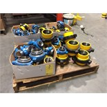 LOT OF HAMMER UNIONS: threaded & buttweld, Figure 100 & Figure 200, assorted   LOCATED IN HOUSTON,