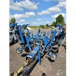 PORT AGRIC NIMROD 12 TRAILED BATWING ROTARY MOWER SET. DIRECT FROM GOLF CLUB, CURRENTLY USED