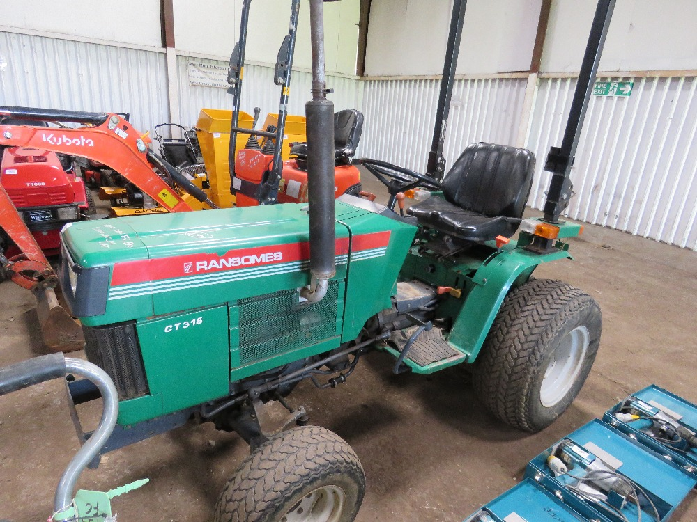 RANSOMES CT318 4WD COMPACT TRACTOR - Image 2 of 5