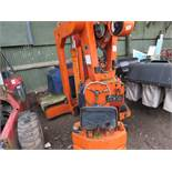 4Tonne rated telescopic crane. Runs, drives and lifts/