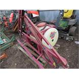 Hardi PTO powered compact tractor sprayer, 15ft approx. boom