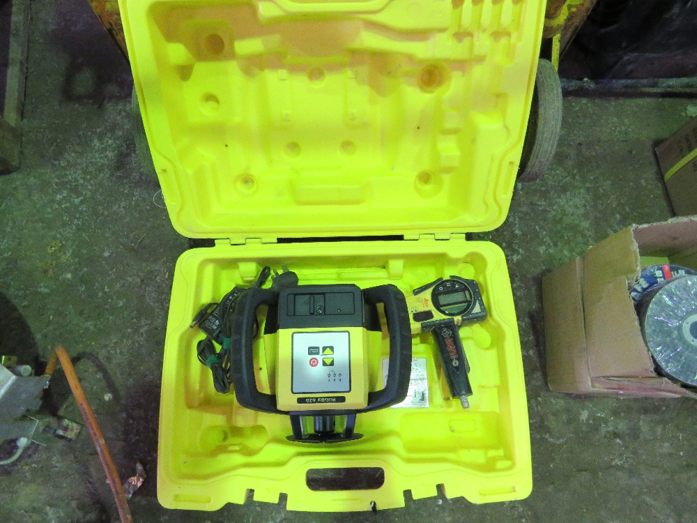 LEICA RUGBY 620 PRISM SURVEY LEVEL
