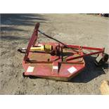 BIG BEE TRACTOR MOUNTED 4FT TOPPER MOWER
