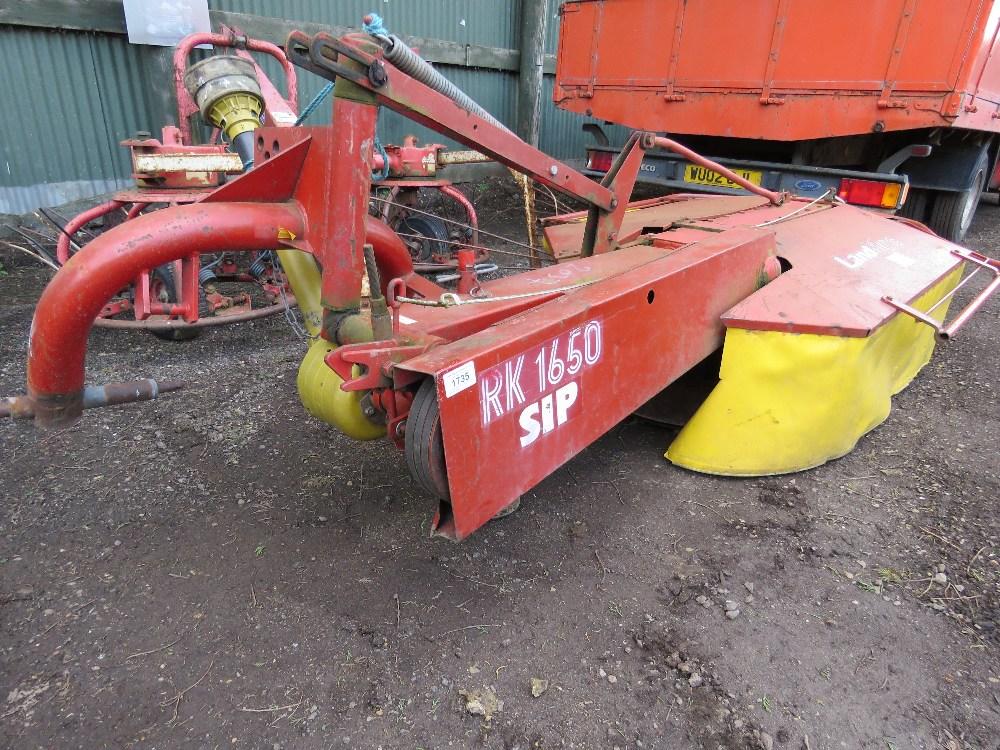 SIP Landmec RK1650 twin drum tractor mounted mower