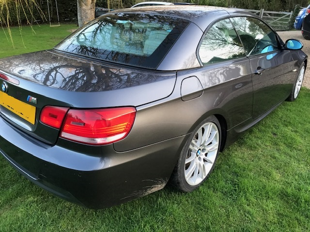 BMW 325I M SPORT CONVERTIBLE 58 REG - Image 8 of 16