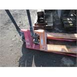 2no. Pallet trucks, ex company liquidation
