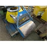 Water ballasted garden roller