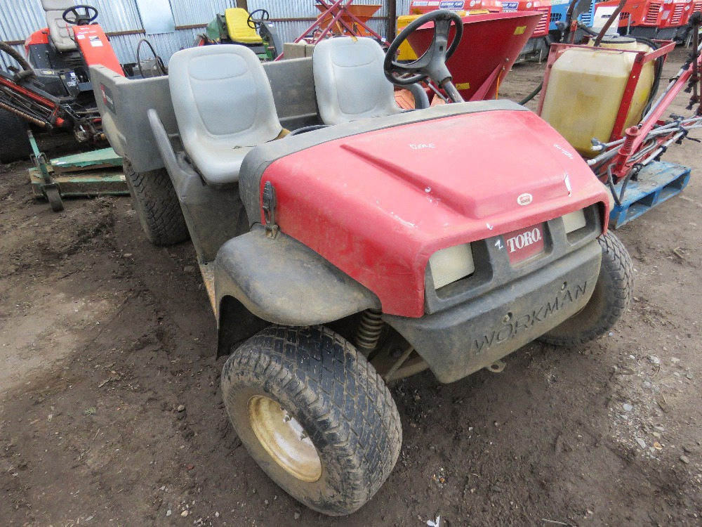 Toro Workman MDX 2wd petrol engined buggy - Image 2 of 4