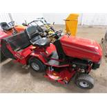 WESTWOOD T1600M RIDE ON MOWER WITH COLLECTOR