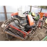 Jacobson Fairway 305 5-gang 4wd ride on mower,