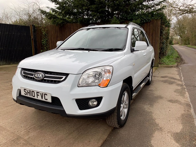 KIA SPORTAGE 4WD CAR, 5 SPEED MANUAL, 70,000 REC MILES APPROX, MOT TILL 11/03/21 WHEN TESTED WAS