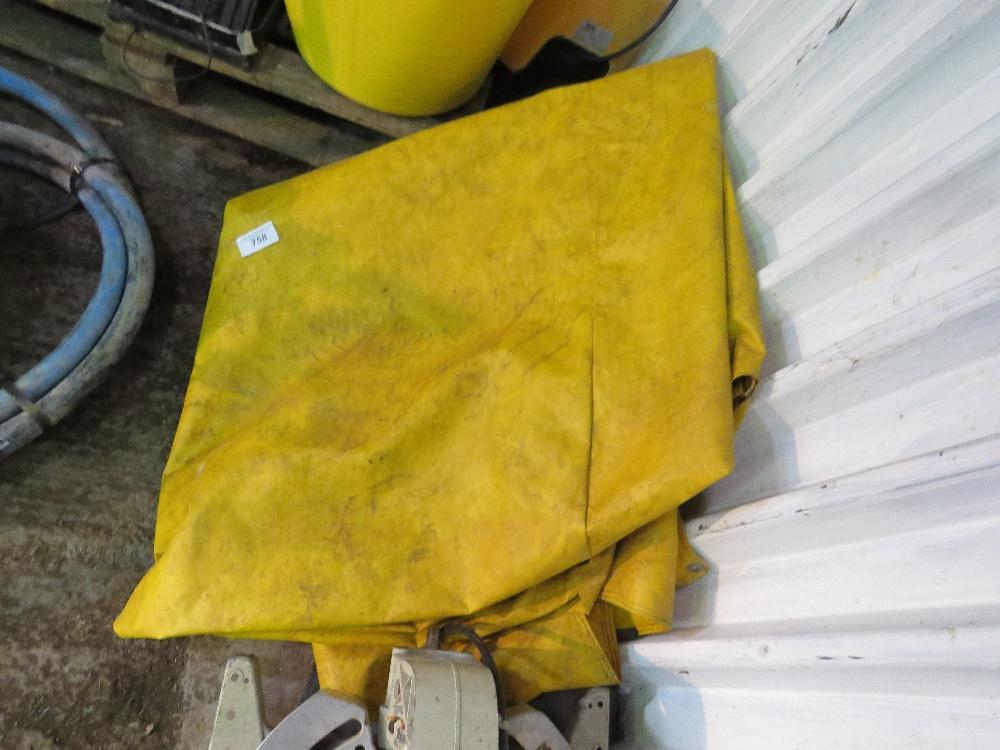 JCB 3CX window cover sheet