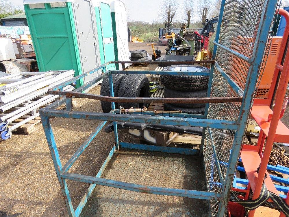 Forklift man cage - Image 3 of 3