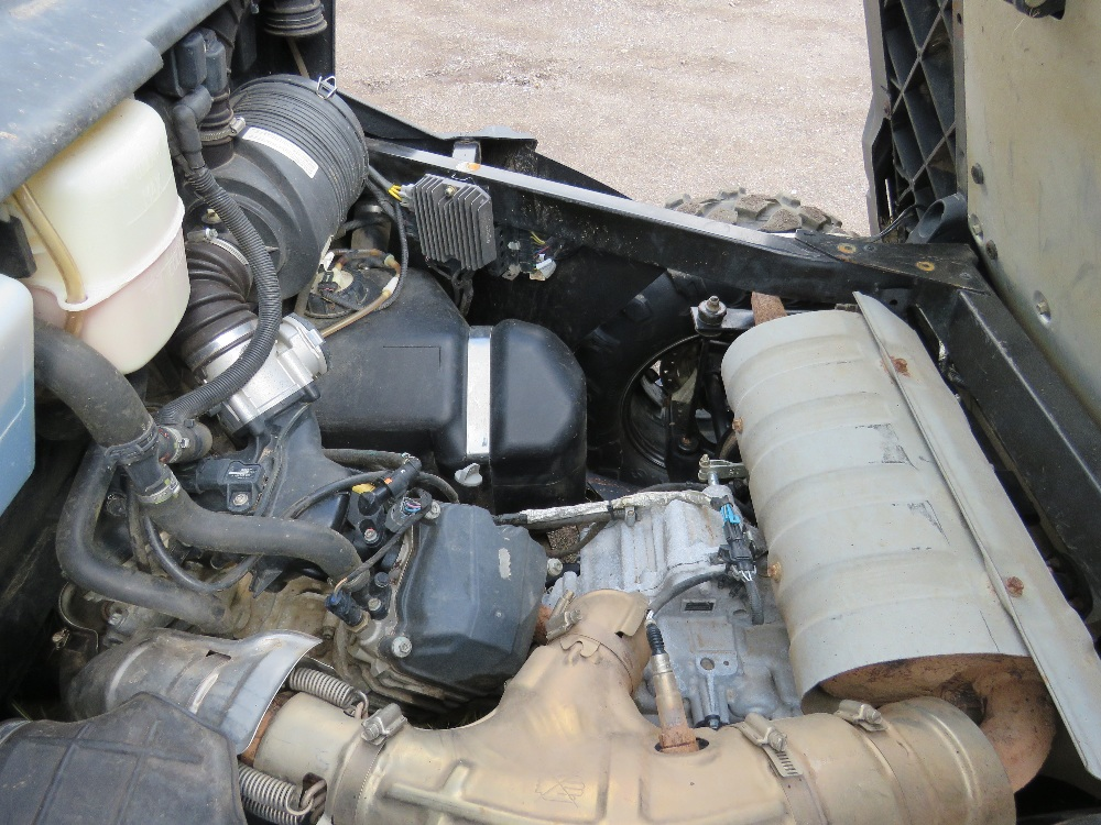 CANAM TRAXTER HD8 UTILITY VEHICLE 800CC PETROL ROTAX ENGINE 1070 REC HRS REG: GJ17 J2C WHEN TESTED - Image 6 of 11