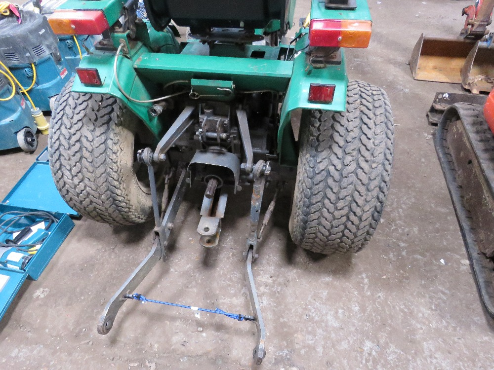 RANSOMES CT318 4WD COMPACT TRACTOR - Image 4 of 5