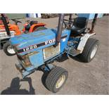 FORD 1220 4WD COMPACT TRACTOR WITH REAR LINKAGE HYDROSTATIC DRIVE