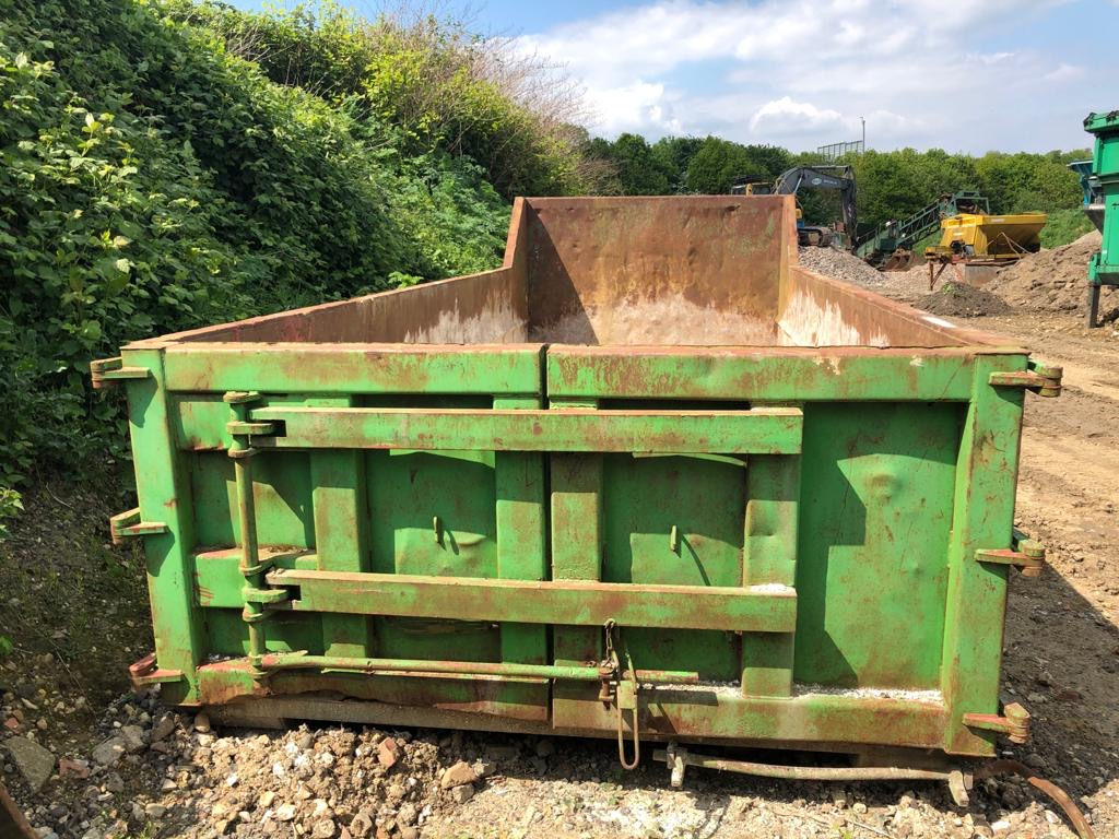 20YRD APPROX. HOOK LOADER BIN WITH TWIN REAR DOORS COLLECTION FROM SWANLEY KENT - Image 2 of 3