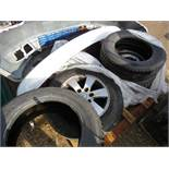 Pallet of vehicle spares