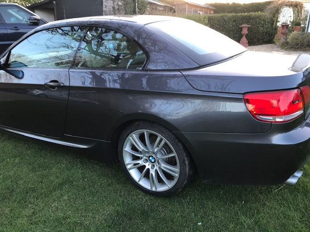 BMW 325I M SPORT CONVERTIBLE 58 REG - Image 10 of 16