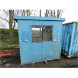 Small office/kiosk unit, 8ftx6ft approx.