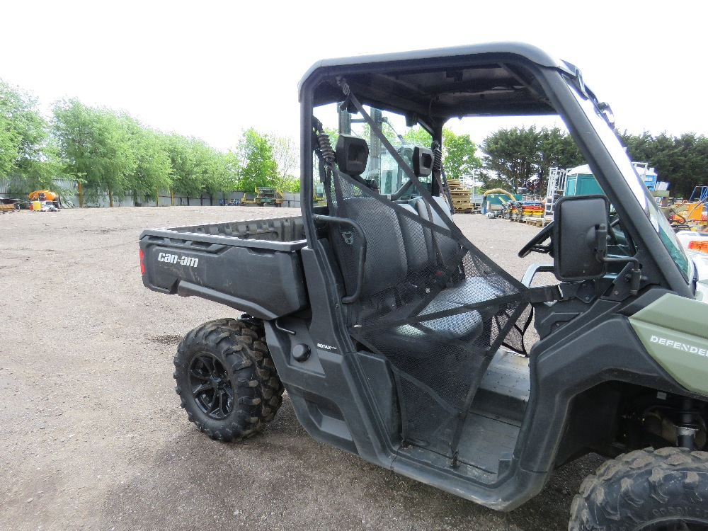 CANAM TRAXTER HD8 UTILITY VEHICLE 800CC PETROL ROTAX ENGINE 1070 REC HRS REG: GJ17 J2C WHEN TESTED - Image 3 of 11