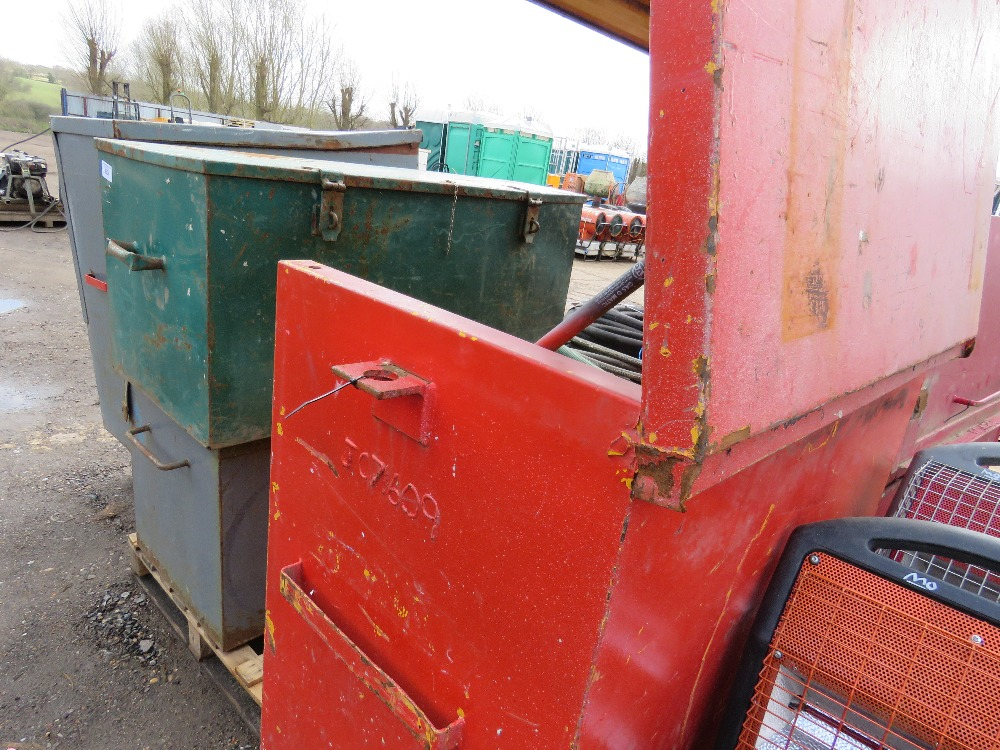 Large tool safe, no keys - Image 3 of 3