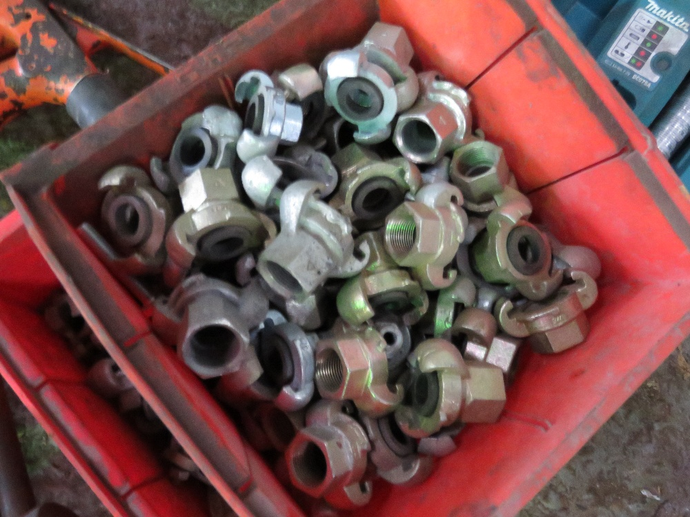 2no. Trays of air couplings