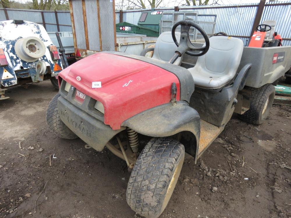 Toro Workman MDX 2wd petrol engined buggy