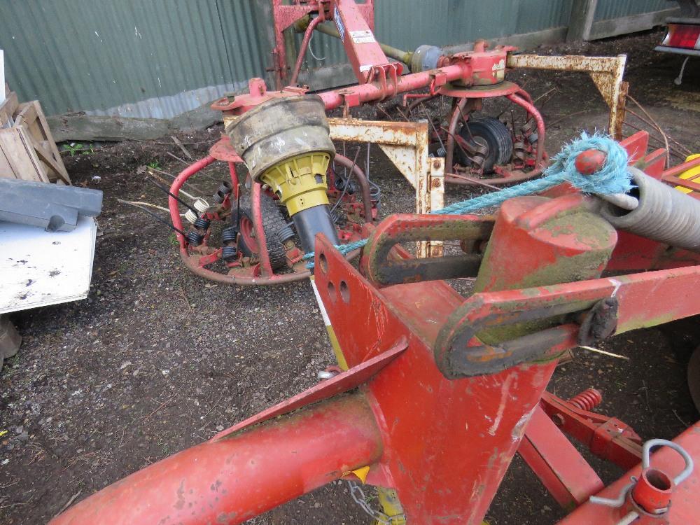 SIP Landmec RK1650 twin drum tractor mounted mower - Image 2 of 4