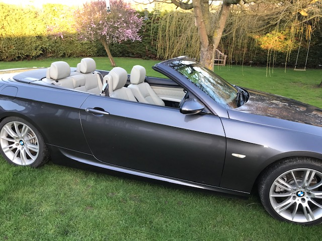 BMW 325I M SPORT CONVERTIBLE 58 REG